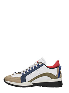 ... Dsquared 2 SNEAKERS 551 IN PELLE BIANCA 3 ...
