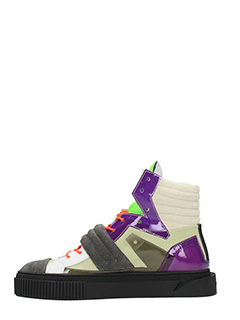 ... Gienchi SNEAKERS HYPNOS IN SUEDE E PELLE MULTICOLOR 3 ...
