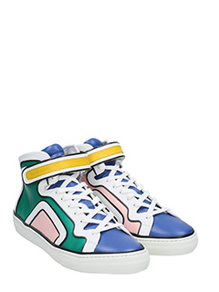 ... Pierre Hardy SNEAKERS MARCH IN PELLE MULTICOLOR 2 ...