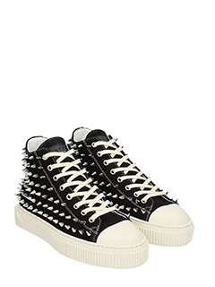 ... Gienchi SNEAKERS JEAN MICHEL IN CAMOSCIO NERO 2 ...