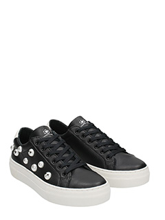 ... MOA SNEAKERS MICKEY IN PELLE NERA 2 ...