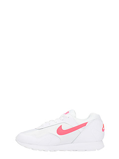 ... Nike SNEAKERS NIKE WMNS OUTBURST IN PELLE E COTONE BIANCO 3 ...